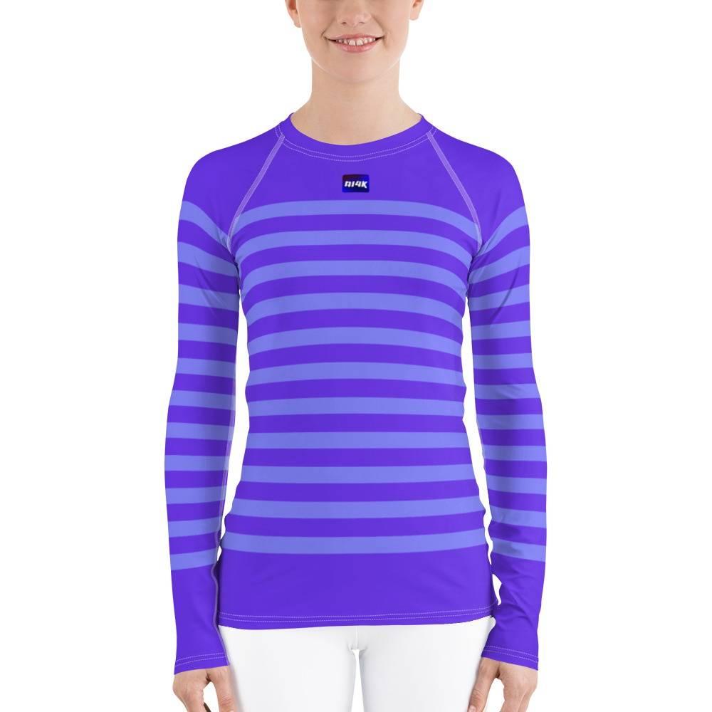 rash guard,women,girl,ai4k shop,stripes