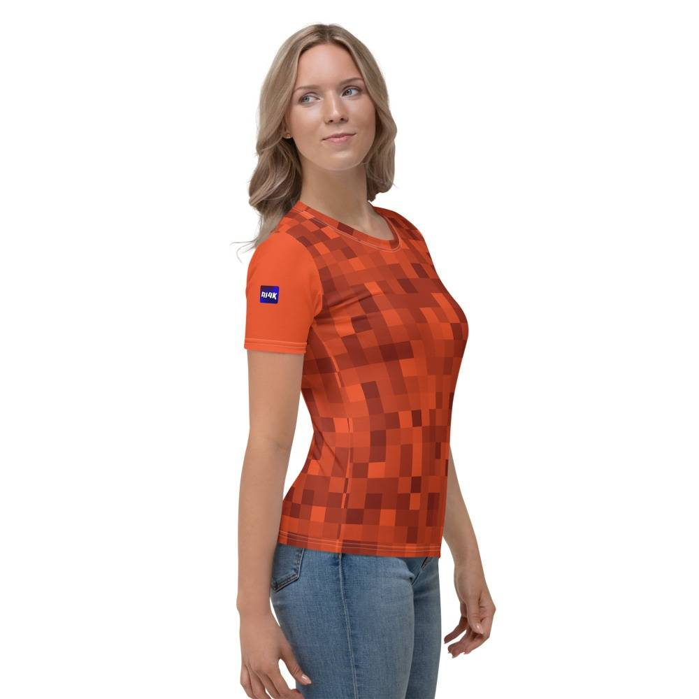 Women's T-shirt camouflage ai4k shop